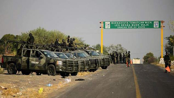 New Rules Make Much Of Mexico Off Limits To Us Military Personnel