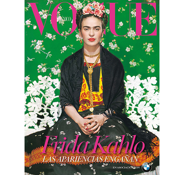 Frida Kahlo Makes the Cover of Vogue Magazine for the ...