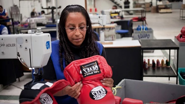 Reyes Family in Mexico City Still Makes the Boxing Gloves of