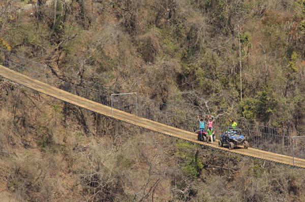 Canopy River of Puerto Vallarta adds to their adventure attractions and has just completed a spectacular vehicular suspension bridge that is considered as ... & Adrenaline Junkies Celebrate Completion of Canopy Riveru0027s ATV ...