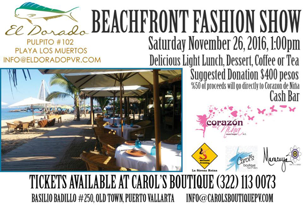 a8a88f187d2 La Sirena Reina Quality Swimwear & Beach Attire, Carol's Boutique and  Maracuya are teaming up to present this incredible beachfront fashion show  at El ...