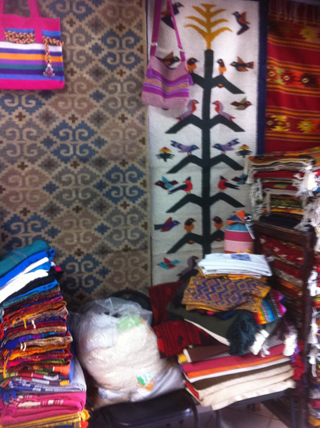 Sale Of Oaxacan Rugs And Textiles At International